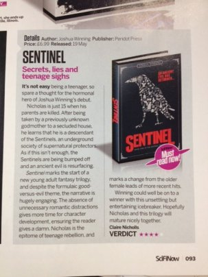 SciFiNow Sentinel review