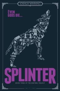 Splinter Joshua Winning book cover raven